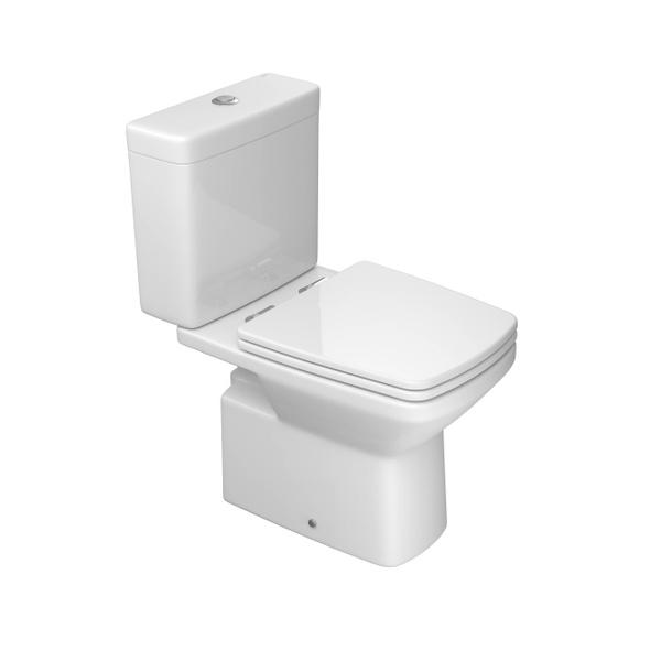 Bacia Deca para Caixa Acoplada Clean Branco - P.460.17