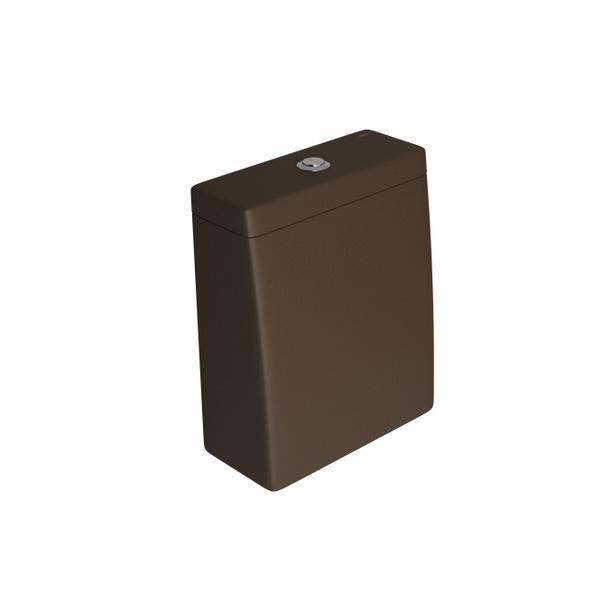 Caixa Acoplada Deca com Acionamento Duo (3 e 6L) Lk Marrom Fosco - CD.23F.22