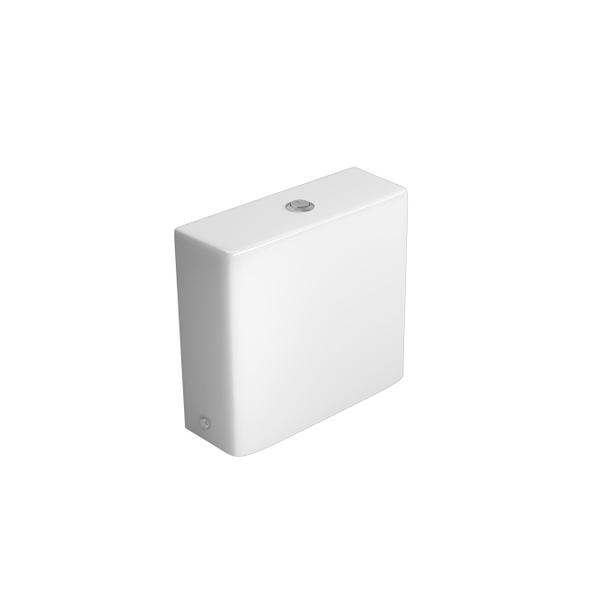 Caixa Acoplada Deca com Acionamento Duo Wish Branco - CD.28F.17