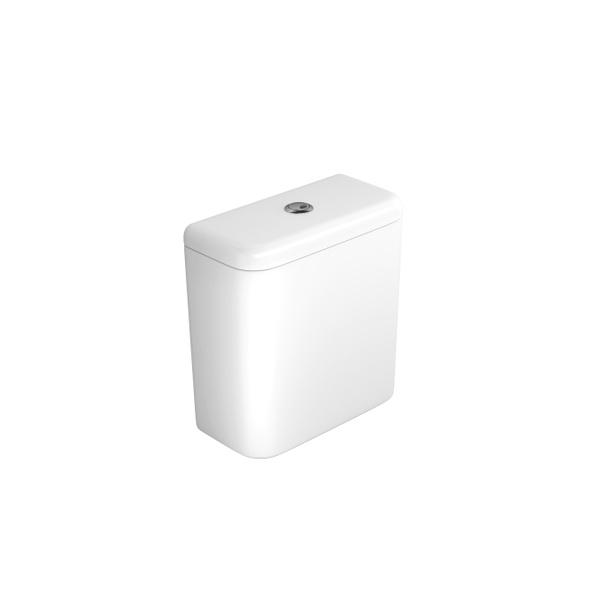 Caixa Acoplada Deca com Acionamento Duo Carrara/Nuova Branco - CD.11F.17