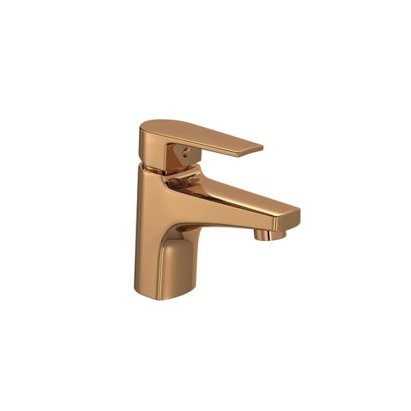 Misturador Monocomando Deca de Mesa Bica Baixa para Lavatório Level Red Gold - 2875.GL26.RD