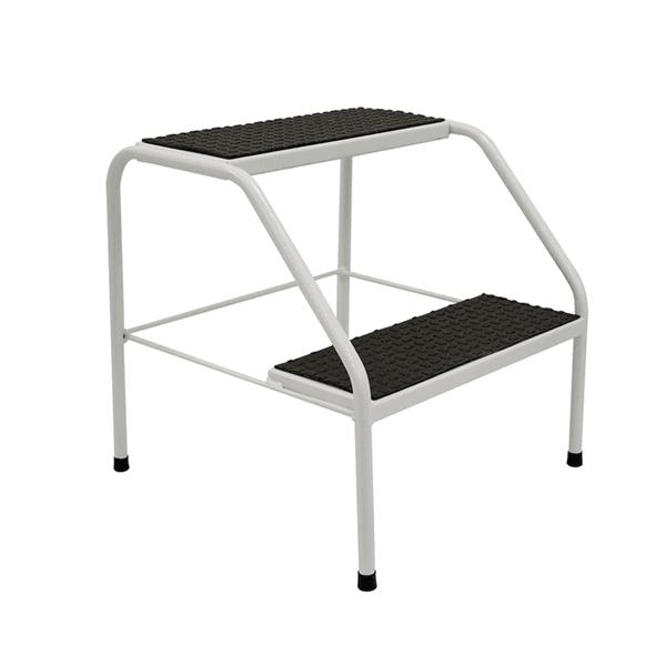 Escada Auxiliar 2 Degraus Metal Para Maca Portátil - Infinity