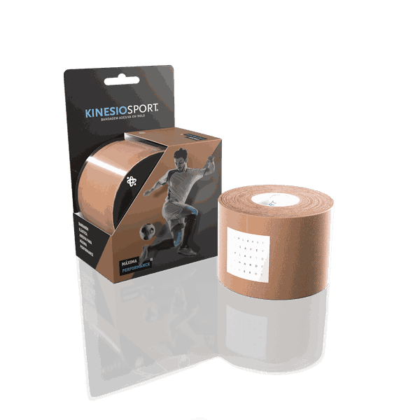 Bandagem Elástica Adesiva KinesioSport