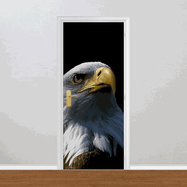 Adesivo para Porta - Águia