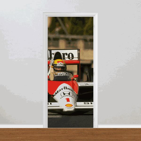 Adesivo para Porta - Ayrton Senna