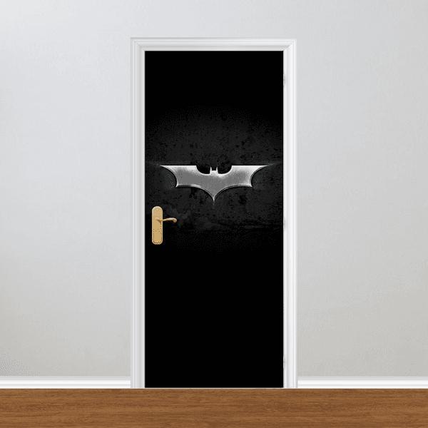 Adesivo para Porta - Batman Logo