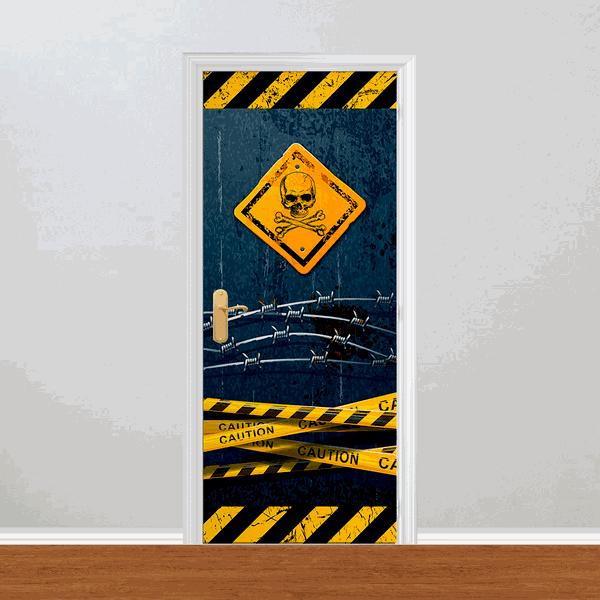 Adesivo para Porta - Proibido Entrar