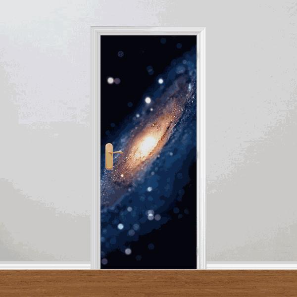 Adesivo para Porta - Universo