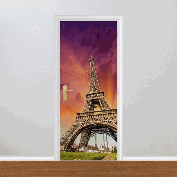 Adesivo para Porta - Torre Eiffel