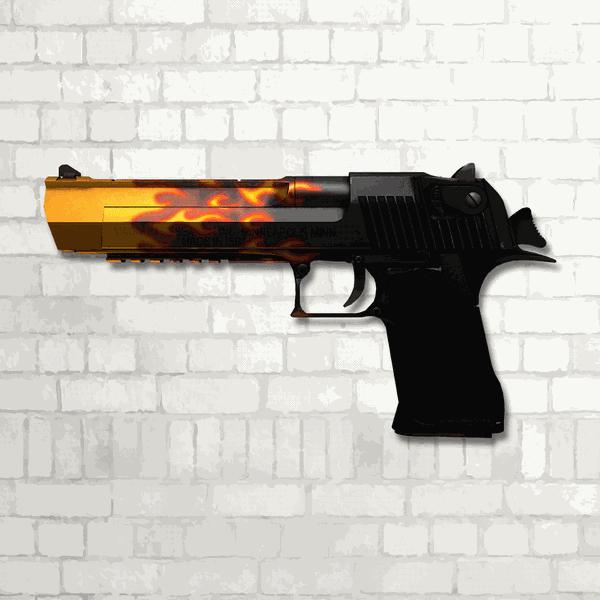 Skin MDF CSgo   Blaze