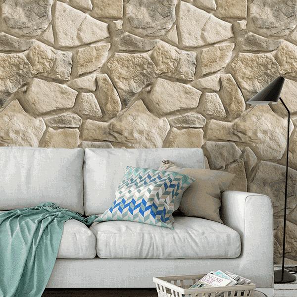 Papel de Parede Adesivo - Pedras Mod.02
