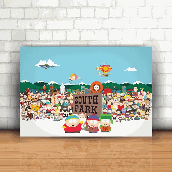 Placa Decorativa - South Park