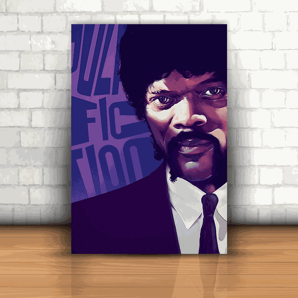 Placa Decorativa - Pulp Fiction Jules Winnfield