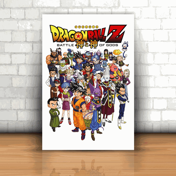 Placa Decorativa - Dragon Ball Z