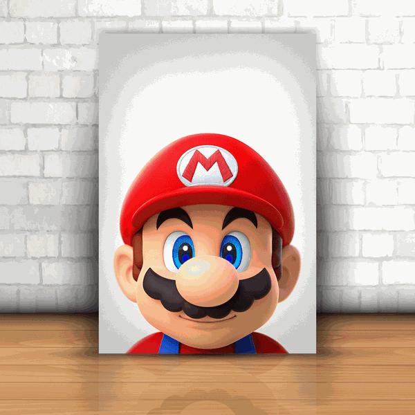 Placa Decorativa - Mario