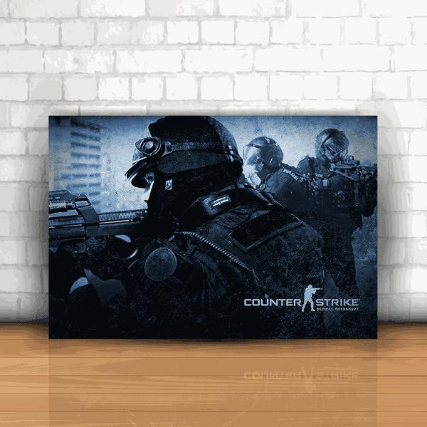 Placa Decorativa - Counter Strike mod 01