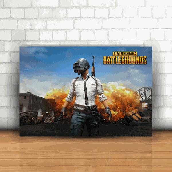 Placa Decorativa - Playerunknown's Battlegrounds PUBG