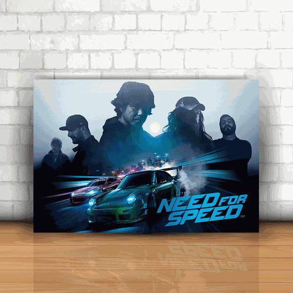Placa Decorativa - Need For Speed