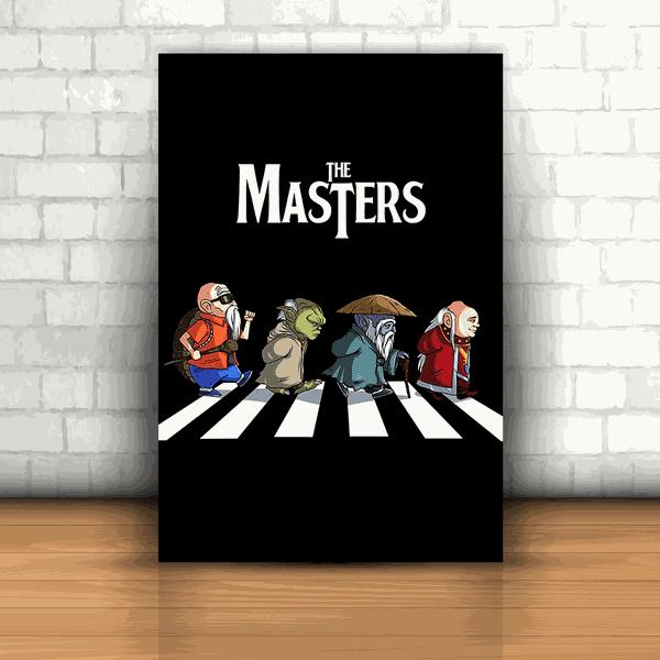 Placa Decorativa - The Masters