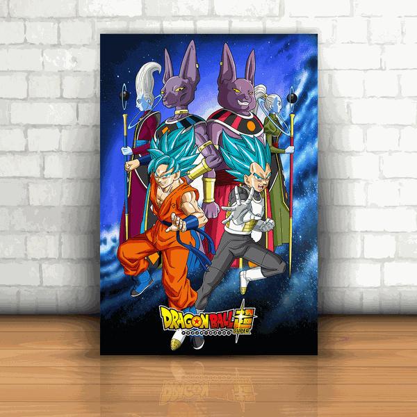 Placa Decorativa - Dragon Ball Super