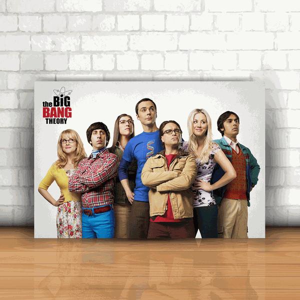 Placa Decorativa - The Big Bang Theory