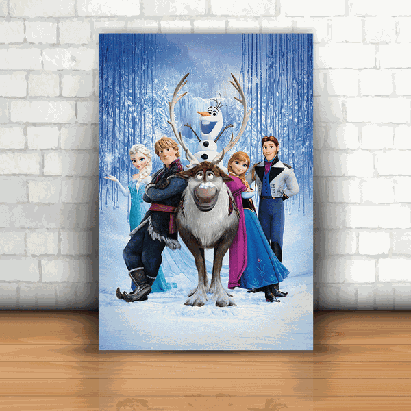 Placa Decorativa - Frozen