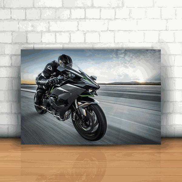 Placa Decorativa - Kawasaki H2R