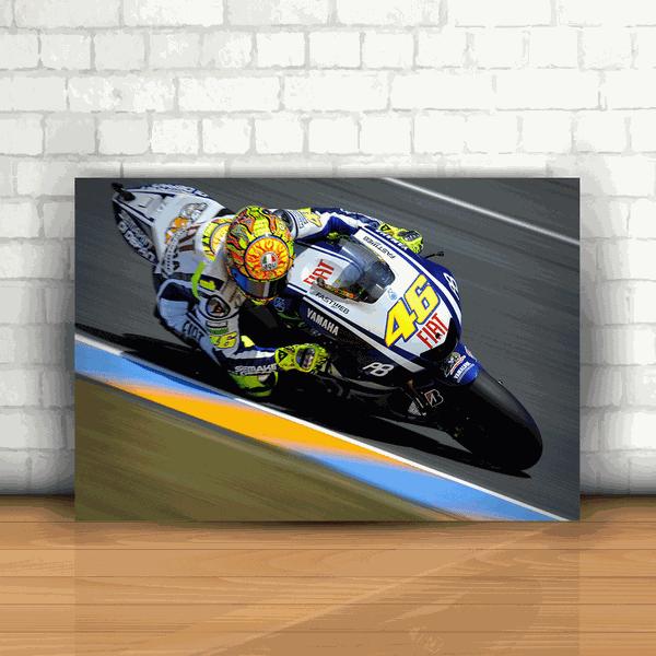 Placa Decorativa - Valentino Rossi