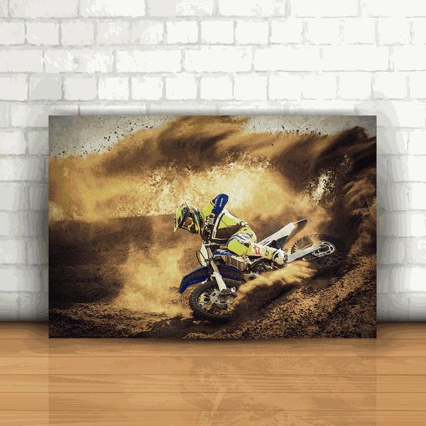Placa Decorativa - Motocross