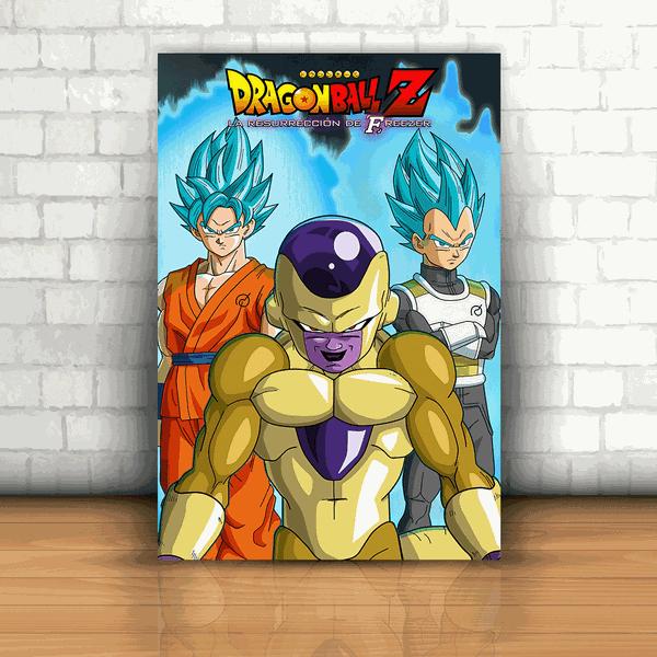Placa Decorativa - Dragon Ball Z Freeza