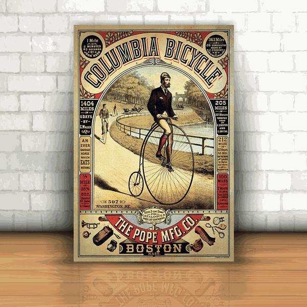 Placa Decorativa - Bicicleta Vintage