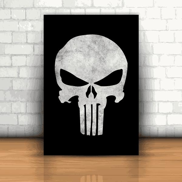 Placa Decorativa - Justiceiro