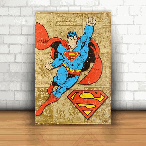 Placa Decorativa - Superman Quadrinhos
