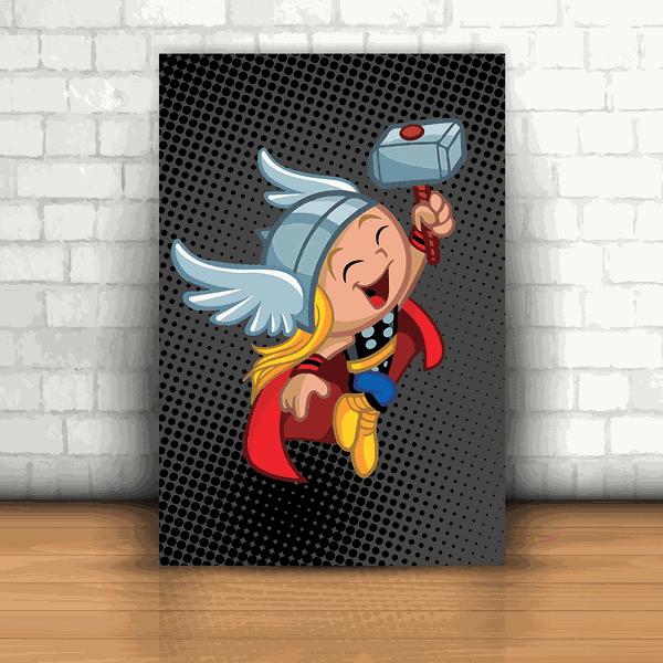 Placa Decorativa - Thor Kids
