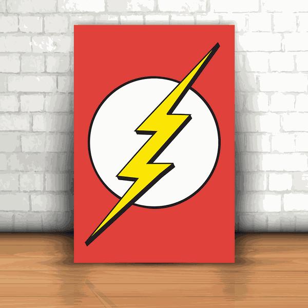 Placa Decorativa - The Flash Logo