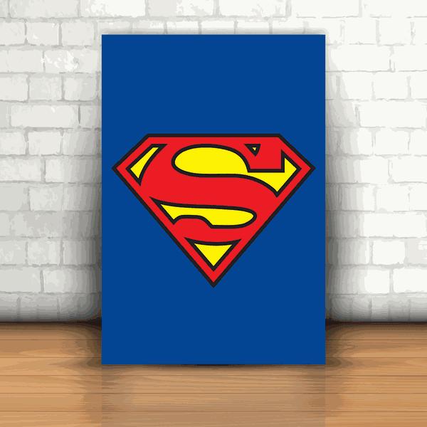 Placa Decorativa - Superman Logo