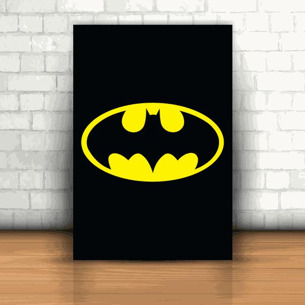 Placa Decorativa - Batman Logo