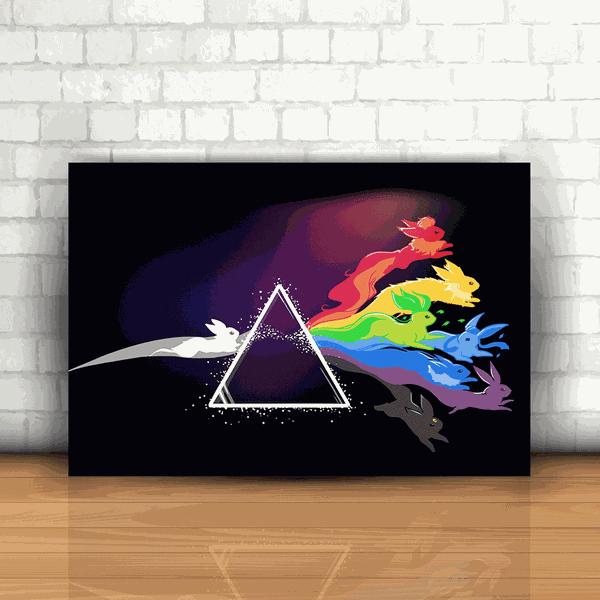 Placa Decorativa - Pokémon Transformações