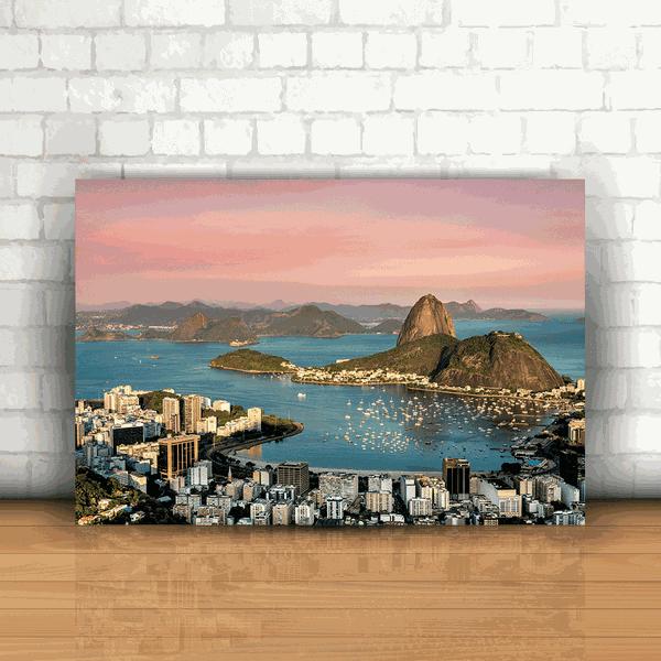 Placa Decorativa - Pão de Açúcar Rio de Janeiro