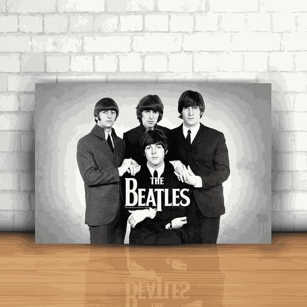 Placa Decorativa - The Beatles