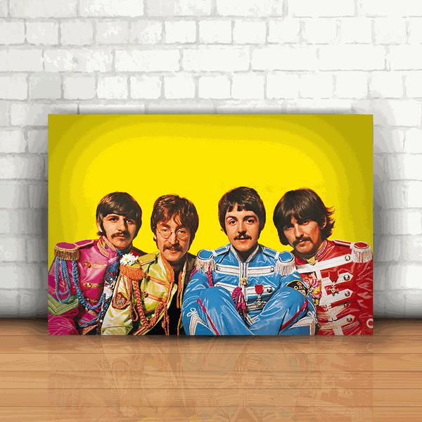 Placa Decorativa - The Beatles Lonely Hearts