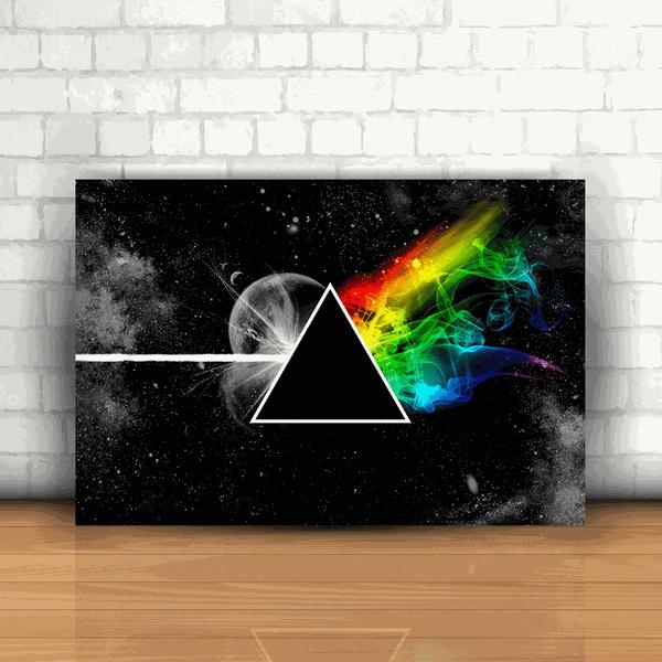 Placa Decorativa - Pink Floyd The Dark Side