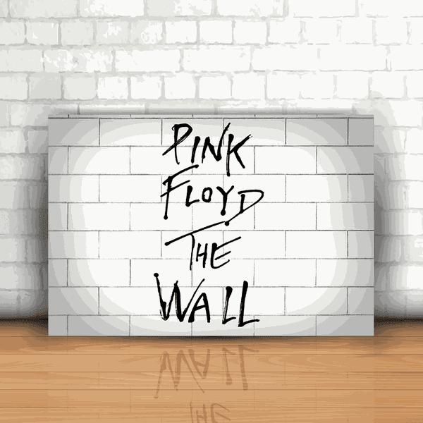 Placa Decorativa - Pink Floyd The Wall