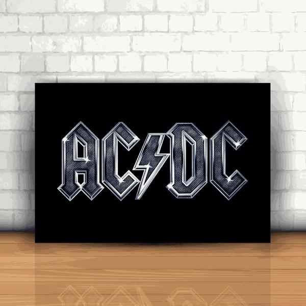 Placa Decorativa - AC/DC