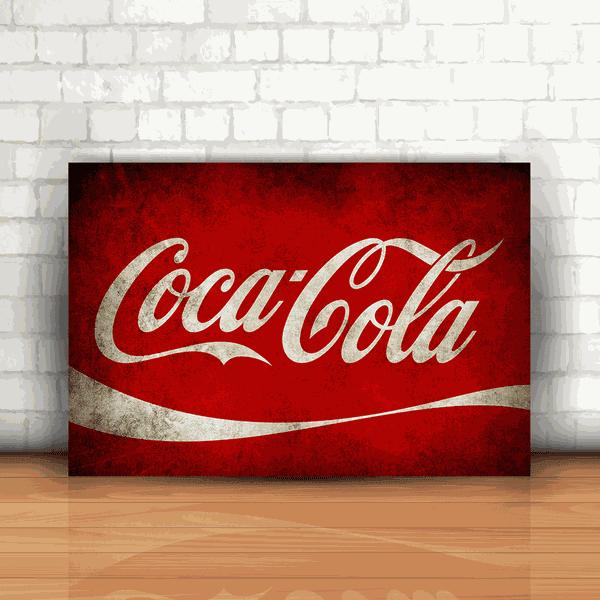 Placa Decorativa - Coca Cola