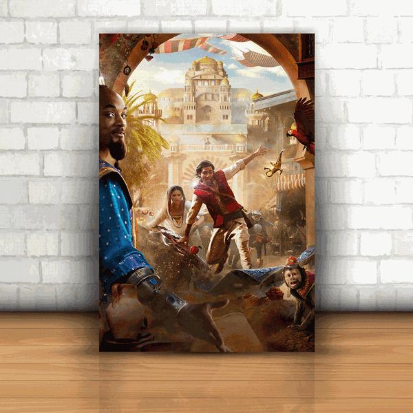 Placa Decorativa - Aladdin Mod. 04