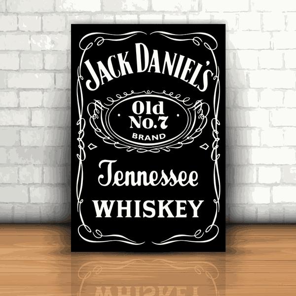 Placa Decorativa - Jack Daniel's