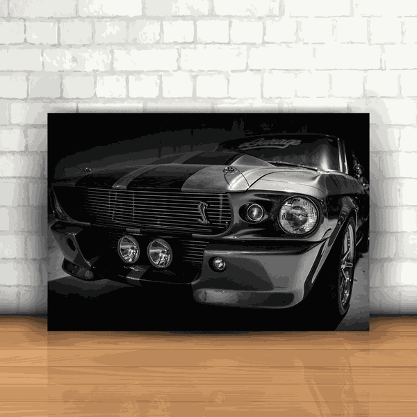 Placa Decorativa - Mustang Shelby Cobra GT 500