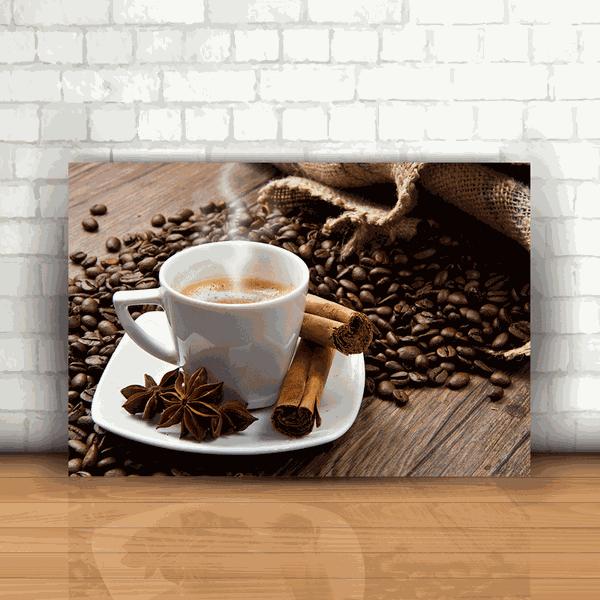 Placa Decorativa - Café