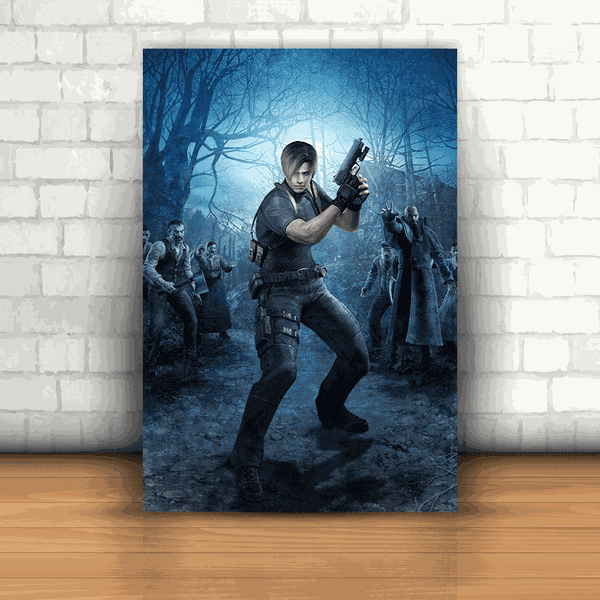 Placa Decorativa - Resident Evil Mod. 06
